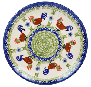 "8.5"" Salad Plate (Chicken Dance)"