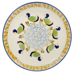 "8.5"" Salad Plate (Ducks in a Row)"