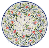 "8.5"" Salad Plate (Flowers & Lace)"