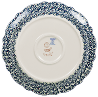 "11.75"" Ornate ""Basia"" Plate (Dragonfly Delight) 