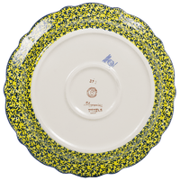 "11.75"" Ornate ""Basia"" Plate (Sunlit Wildflowers) 