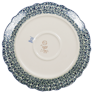 "13.5"" Ornate ""Basia"" Plate (Dragonfly Delight)"