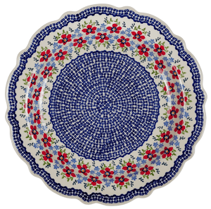"13.5"" Ornate ""Basia"" Plate (Summer Bouquet)"