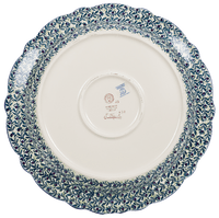 "15"" Ornate ""Basia"" Plate (Dragonfly Delight) 