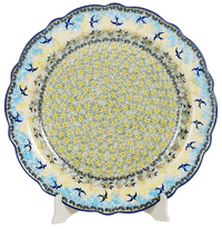 "15"" Ornate ""Basia"" Plate (Soaring Swallows) 