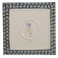 "11.25"" Square Dinner Plate (Irish Spring) 