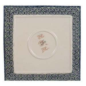 "11.25"" Square Dinner Plate (Coral Bells)"