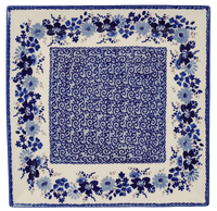 "11.25"" Square Dinner Plate (Blue Life) 