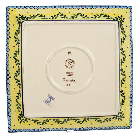 "11.25"" Square Dinner Plate (Sunnyside Up)"