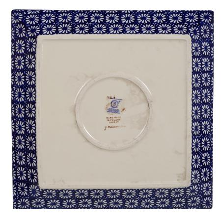"11.25"" Square Dinner Plate (Sun-Kissed Garden)"