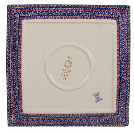 "11.25"" Square Dinner Plate (Sweet Symphony)"
