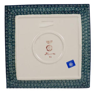 "11.25"" Square Dinner Plate (Bountiful Blossoms)"