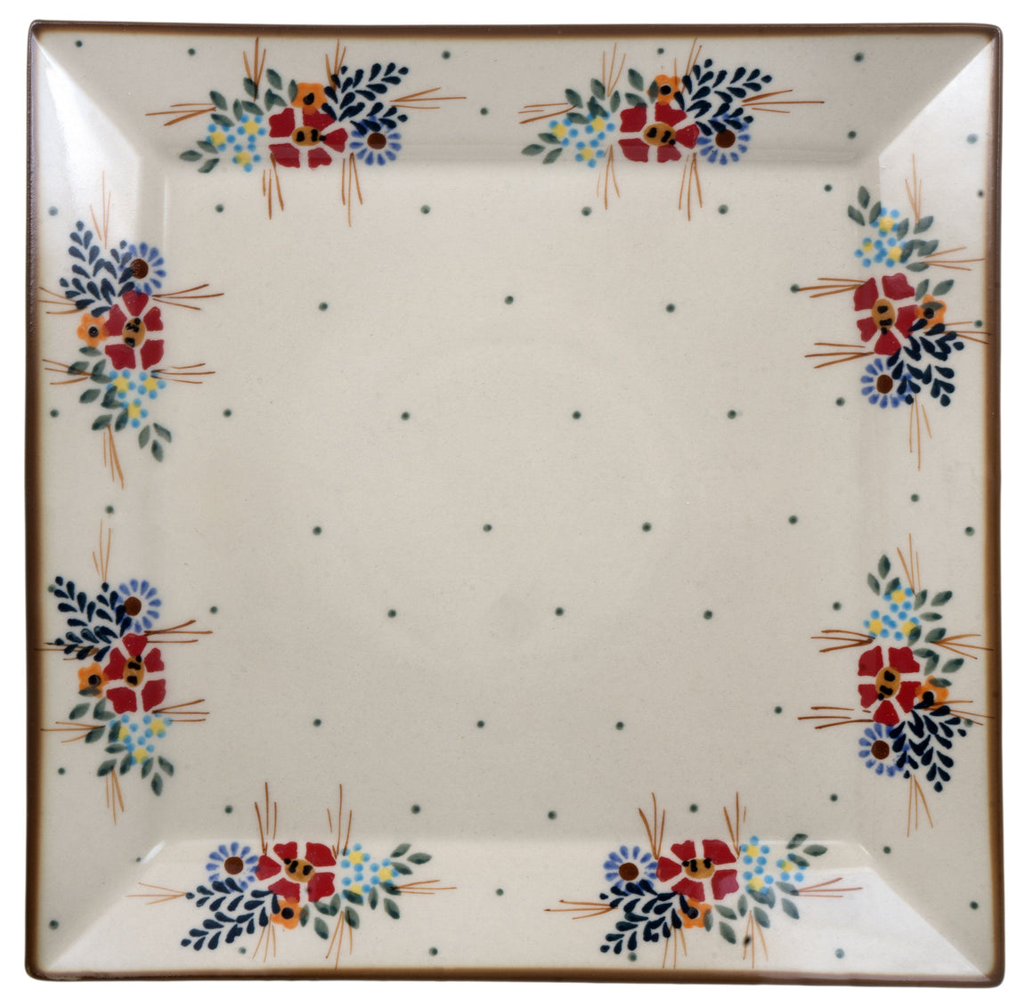 "11.25"" Square Dinner Plate (Country Pride)"