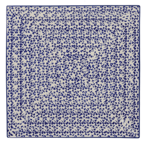 "11.25"" Square Dinner Plate (Blue Thicket)"