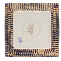 "9"" Square Salad Plate (Bouquet in a Basket)"