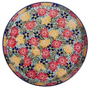 Round Tray (Evening Bouquet)