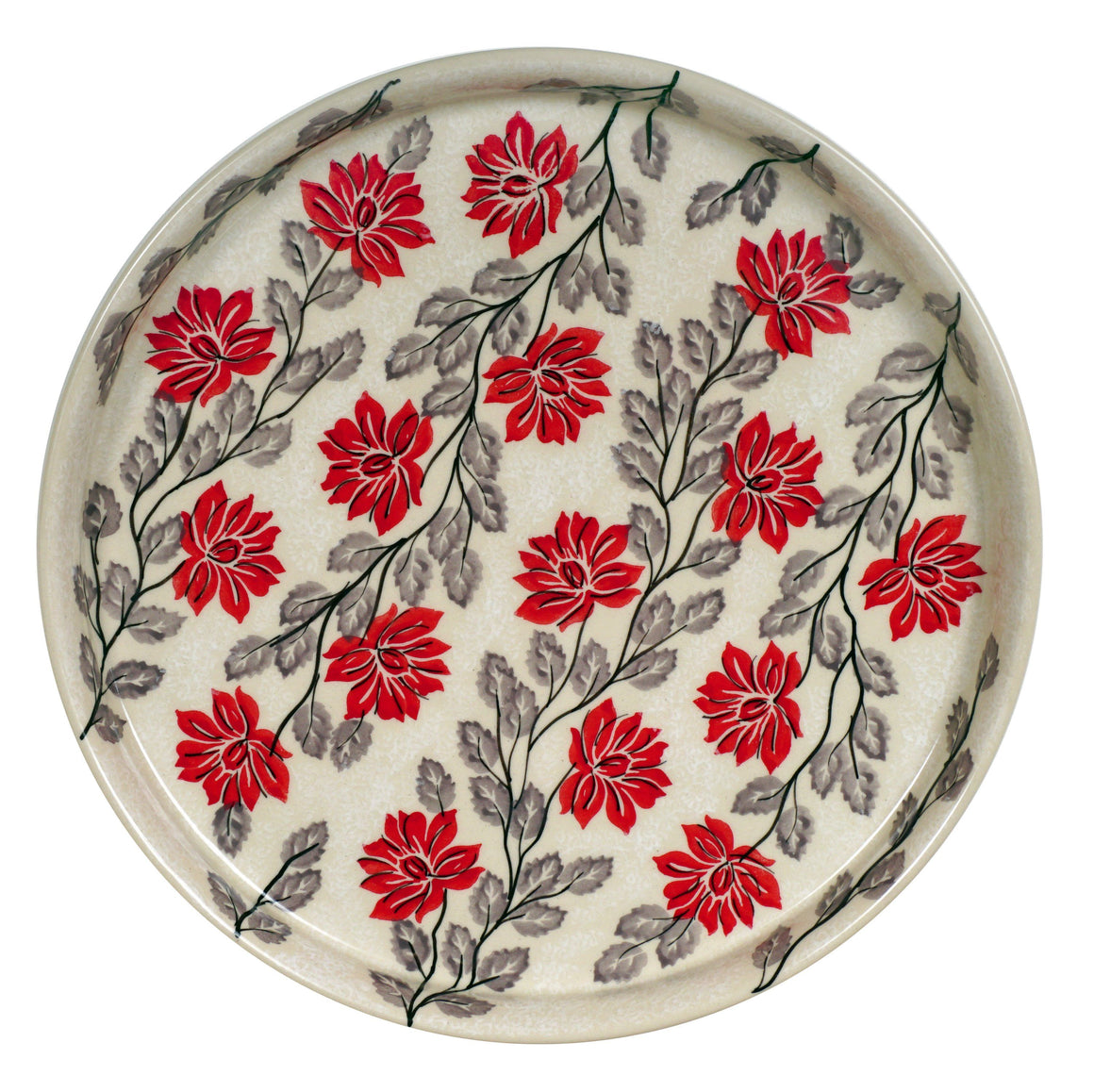 Round Tray (Evening Blossoms)