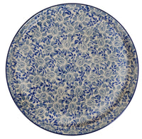 Round Tray (English Blue)