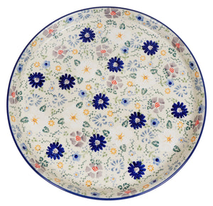 Round Tray (Scattered Petals)