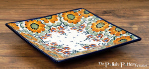 "7"" Square Dessert Plates (Autumn Harvest)"
