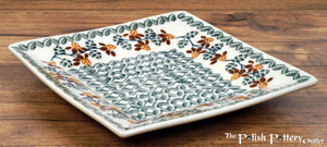 "7"" Square Dessert Plates (Indian Summer)"