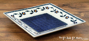 "7"" Square Dessert Plates (Morning Glory)"