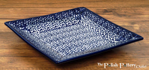 "7"" Square Dessert Plates (Sea Foam)"