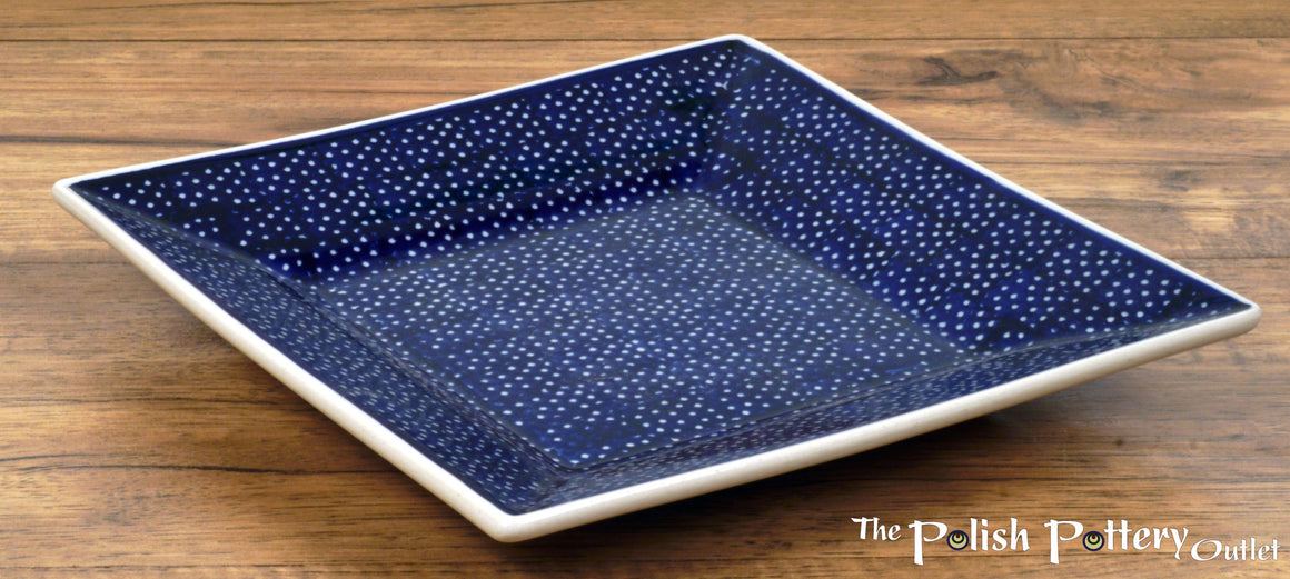 "7"" Square Dessert Plates (Night Sky)"