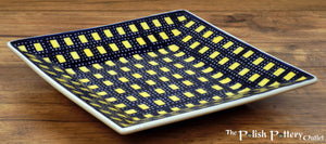 "7"" Square Dessert Plates (City Lights)"