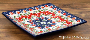 "7"" Square Dessert Plates (Ring Around the Rosie)"