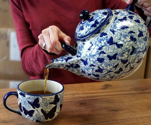 The 3 Liter Teapot (Forget Me Not)