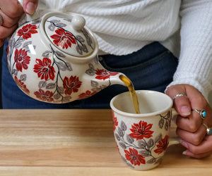 The 1.5 Liter Teapot (Brilliant Garland)