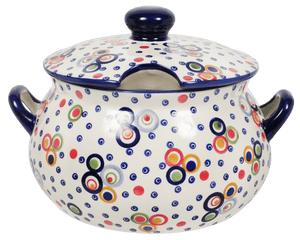 3 Liter Soup Tureen with Handle (Bubble Machine)