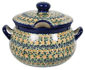 3 Liter Soup Tureen with Handle (Perennial Garden)