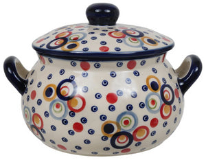 1 Liter Soup Tureen with Handle (Bubble Machine)