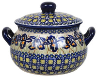 1 Liter Soup Tureen with Handle (Iris)