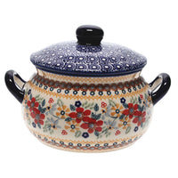 1 Liter Soup Tureen with Handles (Ruby Duet)