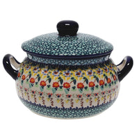 1 Liter Soup Tureen with Handles (Sunny Border)