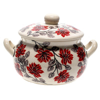 1 Liter Soup Tureen with Handles (Evening Blossoms)