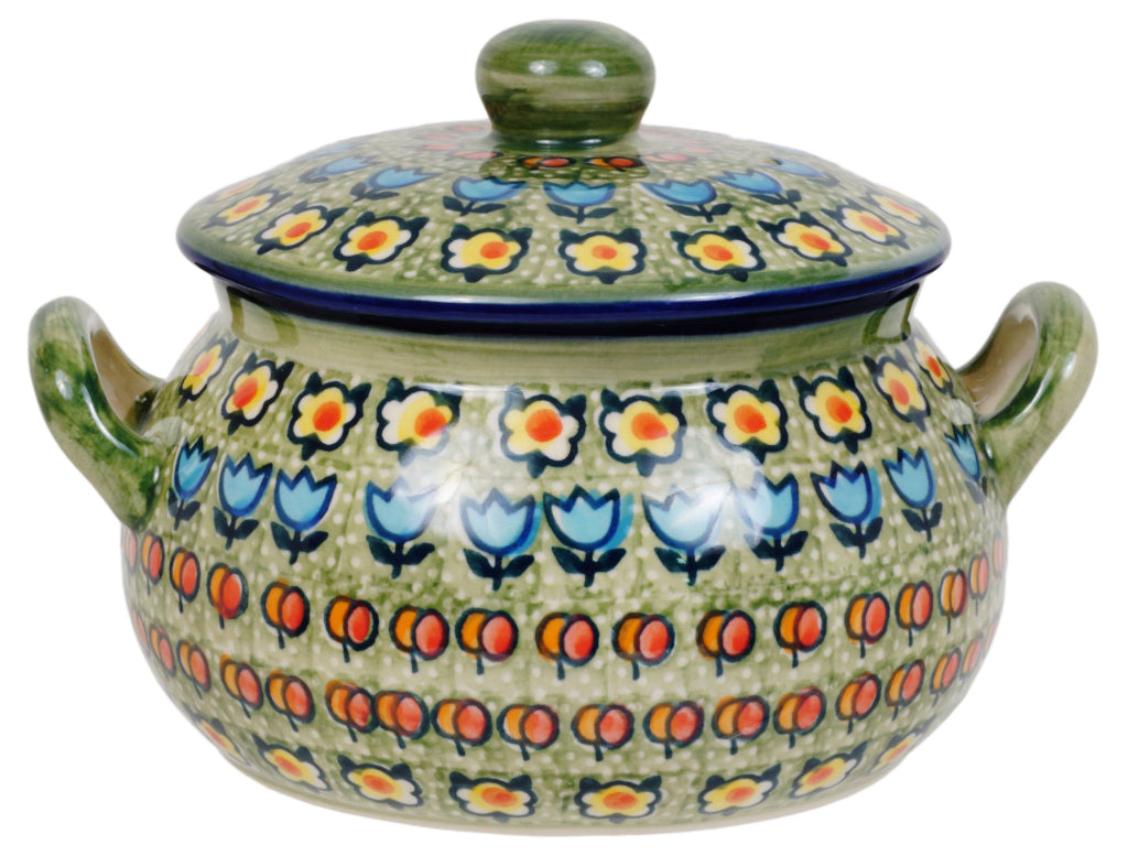 1 Liter Soup Tureen with Handle (Amsterdam)