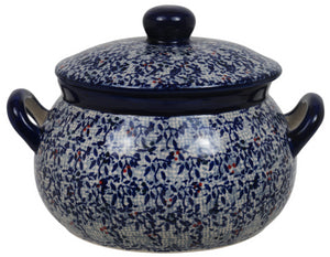 1 Liter Soup Tureen with Handle (Twilight Berries)