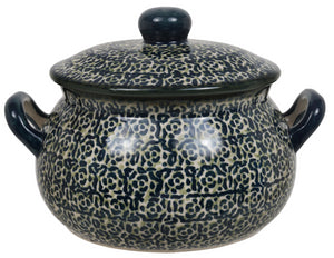 1 Liter Soup Tureen with Handle (Green Peace)