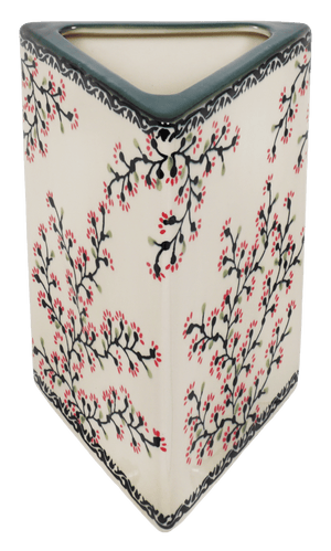 Triangular Vase (Cherry Blossom)