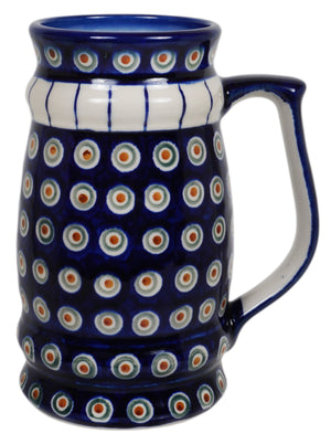 Beer Stein (Peacock in Line)