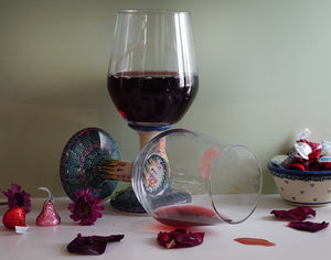 16 oz. Wine Glass/Water Goblet - USB