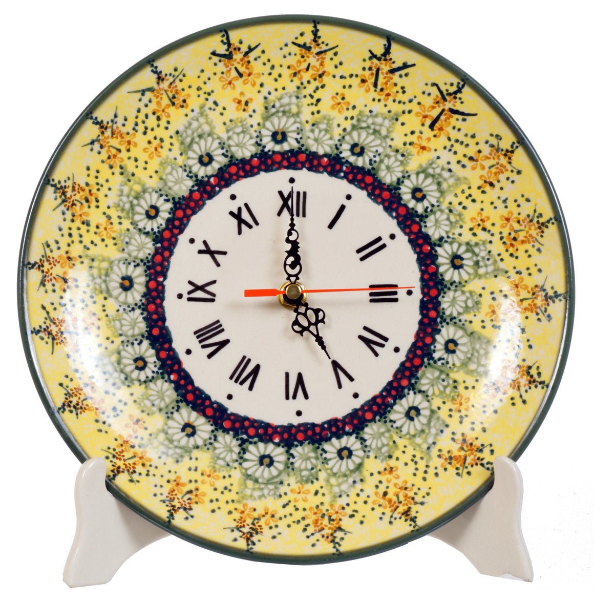 "10"" Round Plate Wall Clock (Sunshine Grotto)"
