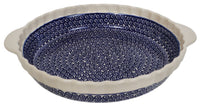 Pie Plate with Handles (Riptide)