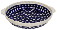 Pie Plate with Handles (Dot to Dot) | Z148T-70A