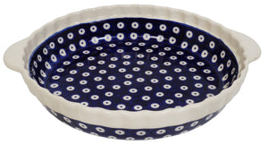Pie Plate with Handles (Dot to Dot)