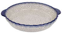 Pie Plate with Handles (Misty Blue)